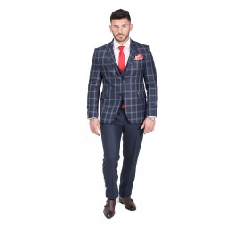 Costum Barbati Carter Business Casual