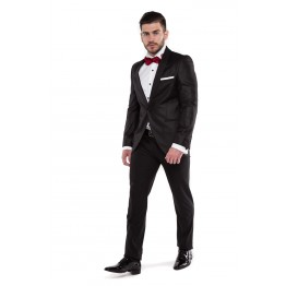 Costum Elegant Negru OTELO