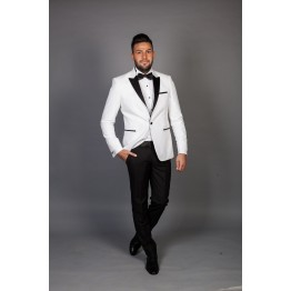 Costum ceremonie blanche